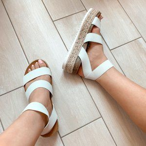 🆕 Kimberly Sandals - White